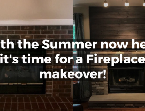 Summer Fireplace Makeovers