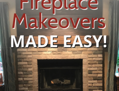 Fireplace Makeovers Made Easy! ✨